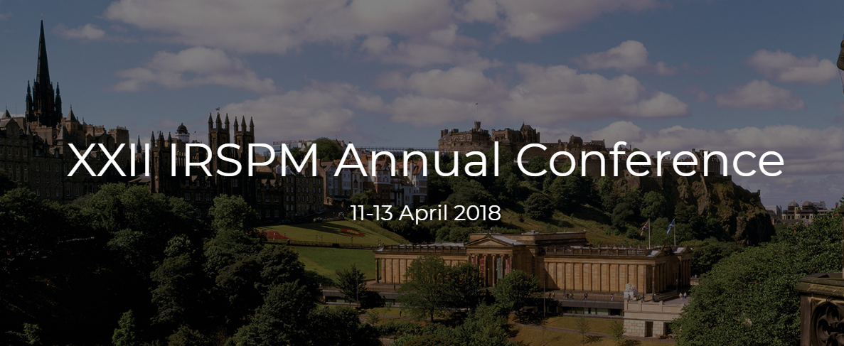 XXII IRSPM (International Research Society For Public Management) Conference